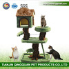BSCI Pet Factory Wholesale Eco-friendly Cat Cardboard House & Indoor Durable Houses Cats