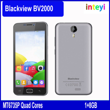 Newest design Blackview BV2000 5 inch smart phone original IPS Screen Android 5.1 Smartphone Dual SIM FDD-LTE mobile phone