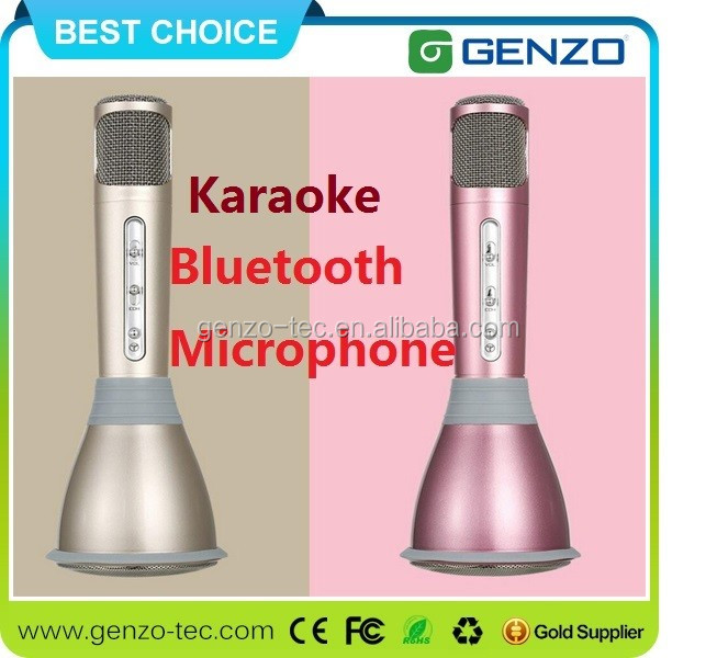 High quality BT Microphone Wireless Bluetooth Microphone and mini Karaoke Player