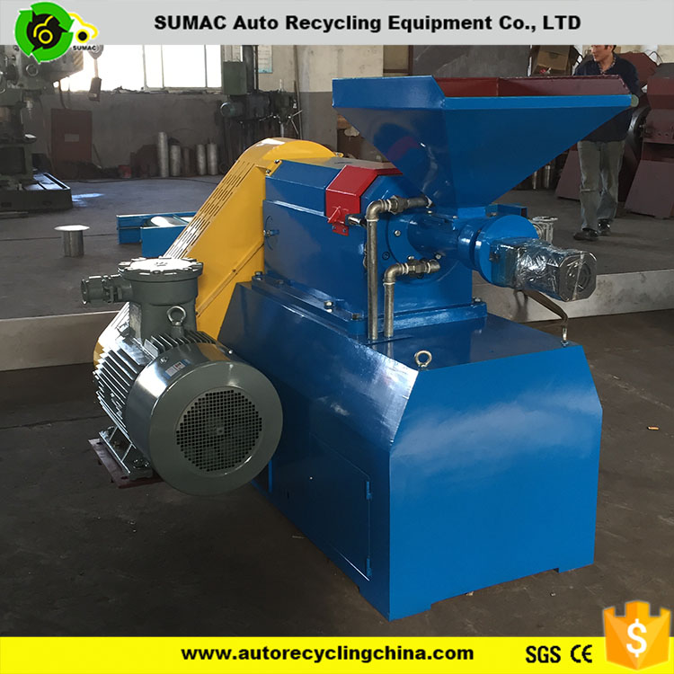 waste tire recycling rubber powder grinding machine