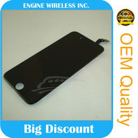 mobile phone lcd big touch lcd for iphone 6 paypal