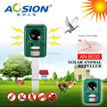 100% High Quality solar energy ultrasonic animal repeller with passive infared