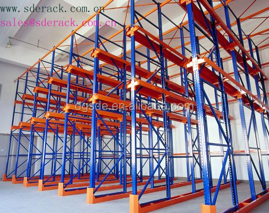 China wholesale drive in pallet racks