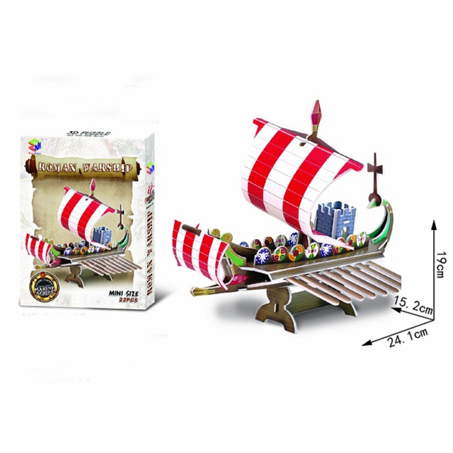Sailing ship models 3D Puzzles for kids