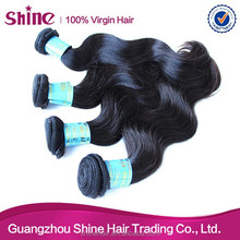 Hot selling 100% unprocessed 6a malaysian hair body wave 5 lot