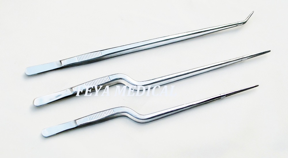 FY-A015-064 Gun-shape Medical Forceps Surgical Tweezer of Stainless Steel Price