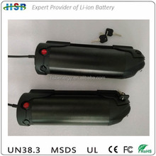 high quality OEM rechargeale 36v 12ah lithium li-ion battery pack for e bike