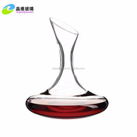 Guangzhou manufacture crystal red wine decanter with premium quality