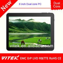 Wholesale 8 inch 3G android tablet bluetooth software