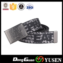 Economic hot sell buckle changeable canvas belt