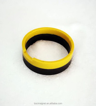 injection ferrite magnet ring with PA plastic for auto air condition
