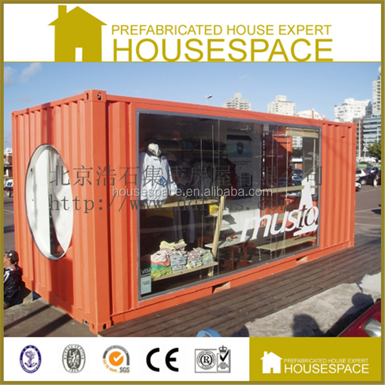 Fireproof Demountable Sandwich Panel Prefabricated Container Kitchen