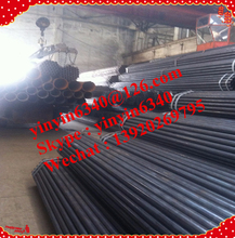 Hot sales! Black steel tube/carbon steel pipe api 5l pipeline/Black Iron welded pipe made in Tianjin