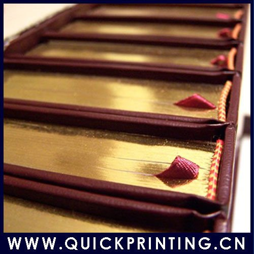Newly 2011 Embossing Book Paper Printing