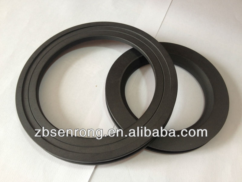 ptfe gaskets filled carbon material