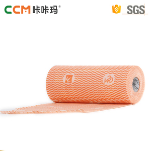 China supplier best quality disposable spunlace nonwoven fabric roll microfiber wipe