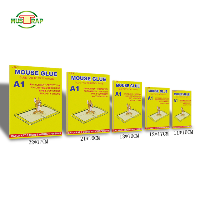 Yellow all kinds of mouse catch glue traps