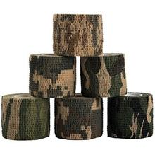 Cheap Price High Tight Camo Duct Tapes, Adhesive Wrap Elastic Bandage Camping Tapes