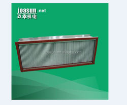 High-temperature resistance Deep-Pleat Box Type HEPA Air Filter