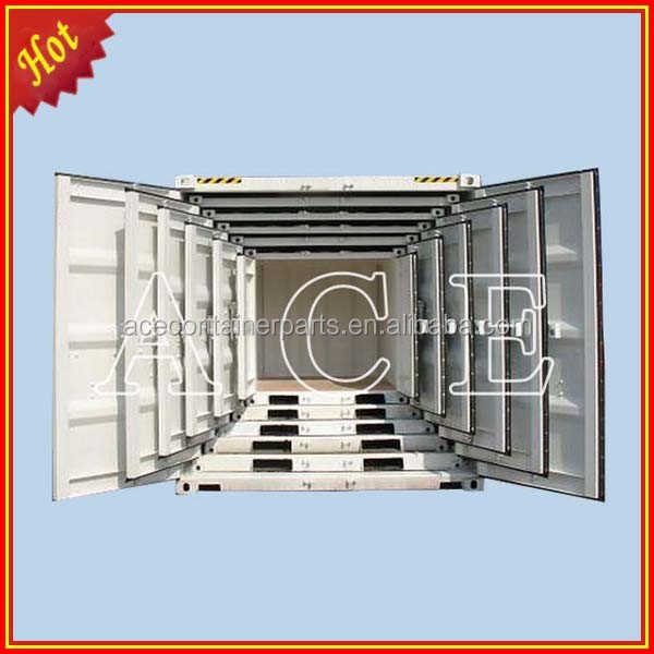Container set for shipping container