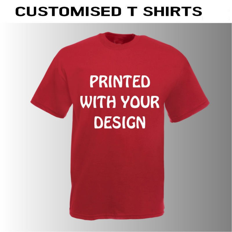 cool customised t shirts. printed or plain. custom t shirts in bulk