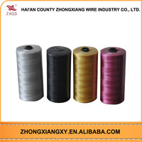 Dyed nylon monofilament trimmer line
