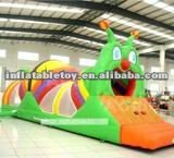 new Snail inflatable tunnel games for kids