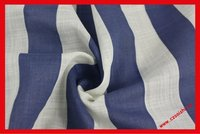 100% Cotton striped fabric voile shirting fabric