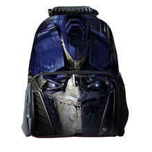 Eco friendly bag backpack dual compartment 2015 new transformers children multifunctional student bag mochila Rucksack