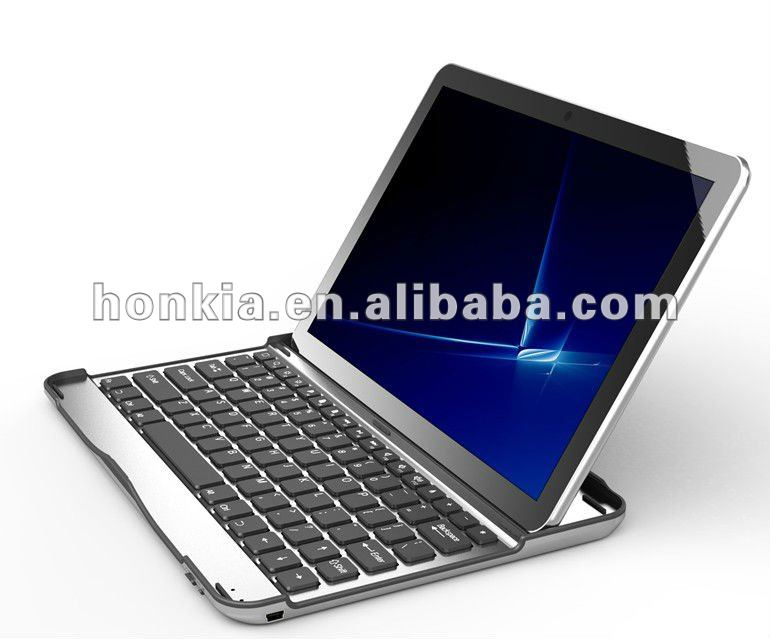 New Arrival Muti Languages Aluminum Wireless Bluetooth Keyboard for Android Galaxy Tab