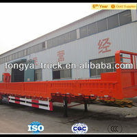 ChIna Supply 80ton Low Flat Bed