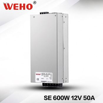 Factory outlet switch 600w ac dc 12v power supply