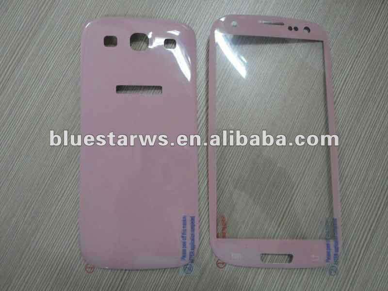 ultra clear skins clear front and back screen protector shield guard for samsung i9300 galaxy s3 guard cover