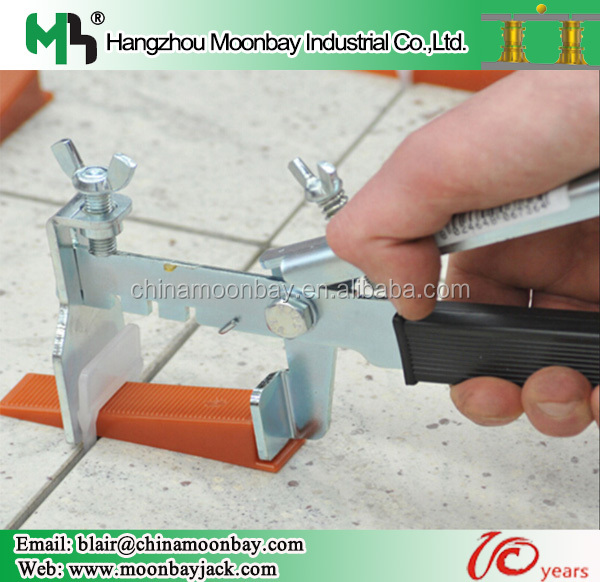 Hot selling tile leveling system floor pliers with clips and wedges