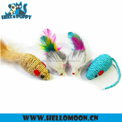 HELLOPUPPY Best Selling High Quality Small Cute Mouse Toy Cat Dog Breathes