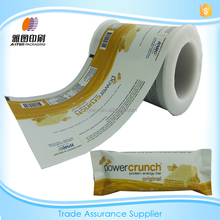 Plastic cold laminating seal film for biscuit/packaging