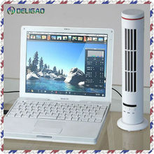 Tower shaped portable USB rechargeable stand air cooler fan with 3 speed model