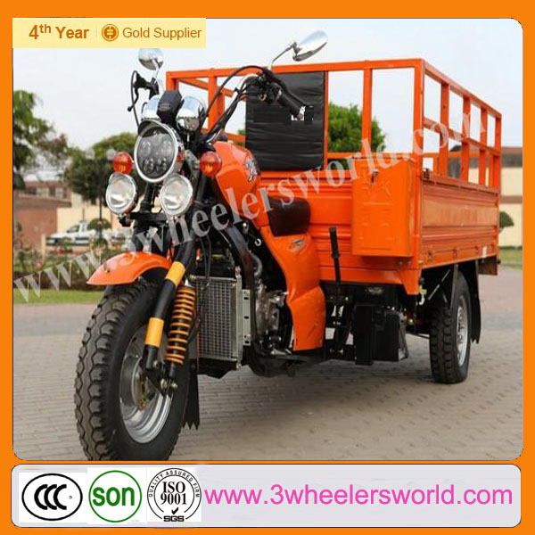 China Manufacturer New Design 200cc Motorized Cheap Trike Chopper Three Wheel Motorcycle for Sale