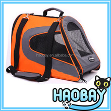 Bright Orange Hot Selling Portable Pet Cage Global Pet Products Pet Dog Bag