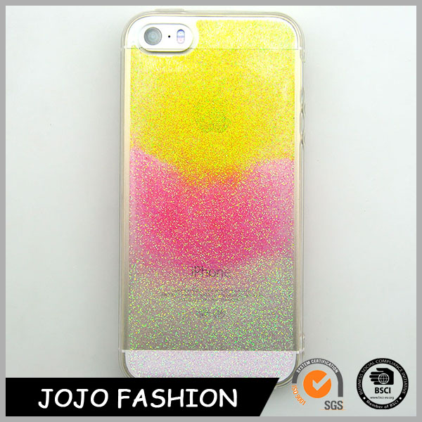 Three colour Glitter Phone Case