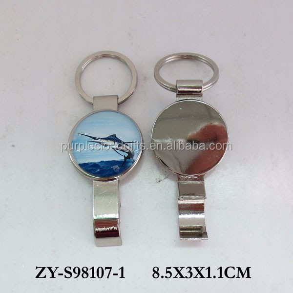 Silver bottle opener hardware beer bottle opener for gift souvenir