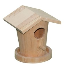 Hot sale wooden birdhouses crafts, finch bird houses