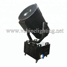 Outdoor sky beam searchlight ip65 moving light 7000w sky rose light for night club