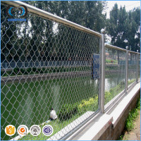 Alibaba PVC Coated Cheap Farm Fence Cheap Chain Link Fencing For Zoo