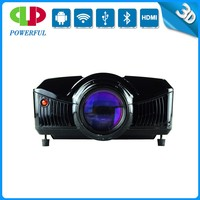 2015 Wonderful led 2600 lumens 1080p HDMI digital TV and video home cinema projector