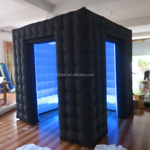 2017 Hot-selling custom Black cheap inflatable photo booth