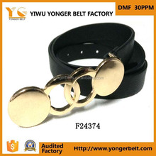 fashion ladies fancy buckle belt lady waistband new design casual garment belt for woman