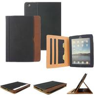 Premium Leather Stand Cover for iPad Mini 1 2 3 4 5 High Quality Folding Auto Sleep Fashion Full Cover Case for Apple Tablets