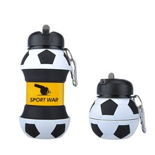 2019 New Style Water Bottles Bpa Free Quality Logo Football For Outdoor <strong>Sports</strong>
