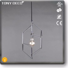 Contemporary Metal Industrial Restaurant Ceiling Light